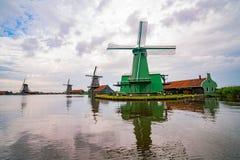 De Gekroonde Poelenburg, De Kat, Windmill De Zoeker, Houtzaagmol immagine stock