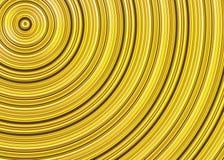 De gekrulde heldere textuur van zonstralen Stock Fotografie