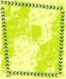 De gele achtergrond van de Weg grunge royalty-vrije illustratie
