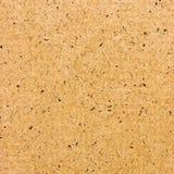 De gele Bruine Natuurlijke Achtergrond van de Textuur van het Karton Stock Fotografie