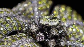 De gele diamant belt geen 3D, het de video van ` s slechts schietend stock footage