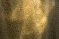De gele en groene achtergrond van de handdoektextuur Royalty-vrije Stock Afbeelding