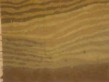 Abstracte bruine geschilderde achtergrond Stock Foto's