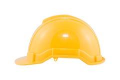De gele Helm van de Veiligheid Stock Afbeelding