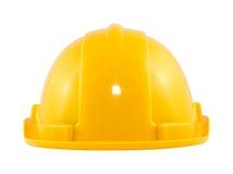 De gele Helm van de Veiligheid Stock Foto