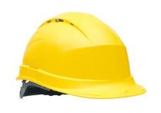 De gele Helm van de Veiligheid Royalty-vrije Stock Afbeeldingen