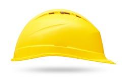 De gele Helm van de Veiligheid Stock Afbeeldingen