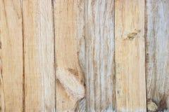 De gele natuurlijke houten achtergrond van de muurtextuur Royalty-vrije Stock Foto