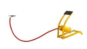 De gele pomp van de voetlucht Stock Foto's