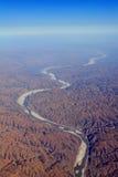 De gele rivier Stock Foto