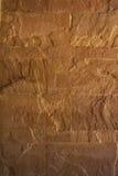 De gele ruwe muur van de steentextuur Royalty-vrije Stock Foto