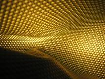 De Gele Samenvatting van de bijenkorf Stock Afbeeldingen