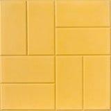 De gele tegel van de kleurenvloer Royalty-vrije Stock Afbeelding