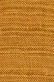 De gele Textuur van de Jute Stock Afbeeldingen