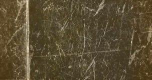 De gele uitstekende abstracte textuur van het grunge zwart-witte oude retro kader stock videobeelden
