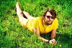 De gele zomer royalty-vrije stock afbeelding