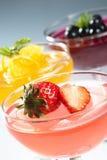De gelei van het fruit Stock Foto