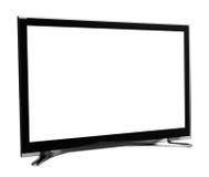 De geleide of lcd Internet monitor van TV Stock Foto's