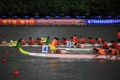 De gelijke van de draakboot in China Stock Fotografie