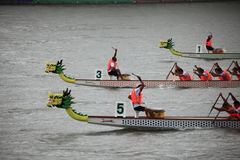 De gelijke van de draakboot in China Royalty-vrije Stock Foto's