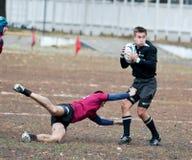 De Gelijke van de Liga van het rugby. Stock Afbeeldingen