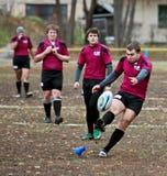De Gelijke van de Liga van het rugby. Stock Foto