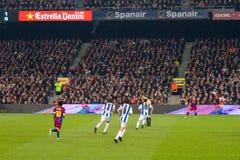 De gelijke van de voetbal Stock Fotografie