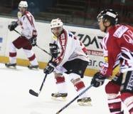 De gelijke van het ijshockey Stock Afbeelding