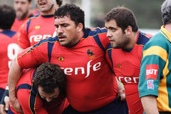 De gelijke van het rugby. Royalty-vrije Stock Afbeelding