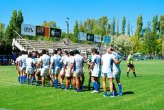 De gelijke van het rugby Stock Afbeeldingen