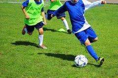 De gelijke van het voetbalvoetbal voor kinderen royalty-vrije stock foto