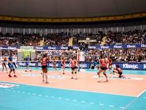 De gelijke van het volleyball Royalty-vrije Stock Foto