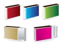 De gelijken van de doos Stock Fotografie