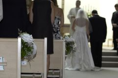 De Geloften van het huwelijk Royalty-vrije Stock Foto