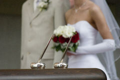 De Geloften van het huwelijk Stock Foto's