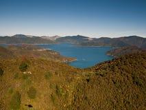 De Geluiden van Marlborough, NZ Stock Afbeelding