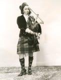 De geluiden van Schotland Royalty-vrije Stock Foto's