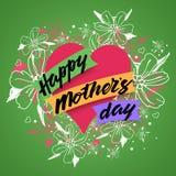 De gelukkige achtergrond van de Dag van Moeders Royalty-vrije Stock Foto's