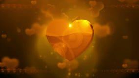 De gelukkige Achtergrond van de Dag van Valentijnskaarten stock footage