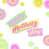 De gelukkige achtergrond van de moeder` s dag Royalty-vrije Stock Fotografie