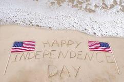 De gelukkige achtergrond van de Onafhankelijkheidsdag stock fotografie