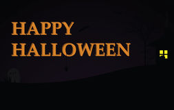 De gelukkige Achtergrond van Halloween Stock Foto