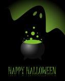 De gelukkige achtergrond van Halloween Stock Afbeelding