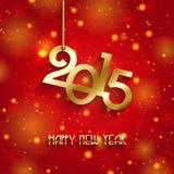 De gelukkige achtergrond van het Nieuwjaar Stock Foto's