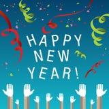 De gelukkige achtergrond van het Nieuwjaar Royalty-vrije Stock Fotografie