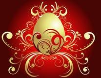 De gelukkige achtergrond van Pasen royalty-vrije illustratie