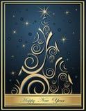 De gelukkige achtergronden van het Nieuwjaar stock illustratie
