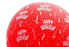 De gelukkige Ballon van de Verjaardag Stock Afbeelding