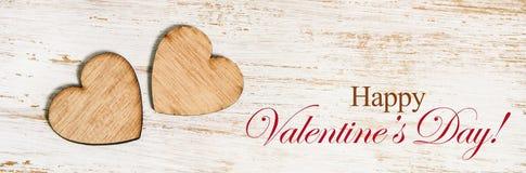 De gelukkige banner van de valentijnskaart` s dag Stock Afbeeldingen
