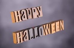 De gelukkige Banner van Halloween Royalty-vrije Stock Afbeeldingen
